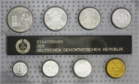 "DDR Kursmünzensatz 1988 stgl ""Minisatz"""