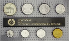 DDR Kursmünzensatz 1988 stgl