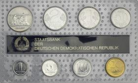 "DDR Kursmünzensatz 1989 stgl ""Minisatz"""