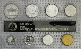 DDR Kursmünzensatz 1989 stgl