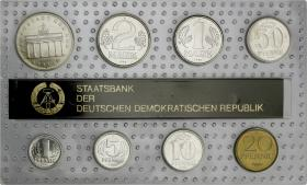 DDR Kursmünzensatz 1990 stgl