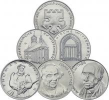 """DDR-Medaillenserie """"450 Jahre Reformation 1967"""""""
