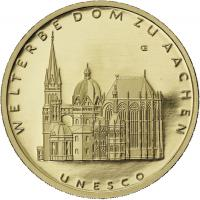Deutschland 100 Euro 2012 Aachener Dom (Gold)