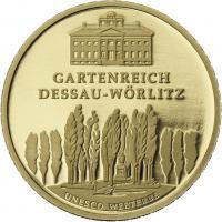 Deutschland 100 Euro 2013 Dessau-Wörlitz (Gold)