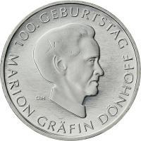 Deutschland 10 Euro 2009 Gräfin Dönhoff stg