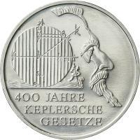 Deutschland 10 Euro 2009 Keplersche Gesetze stg
