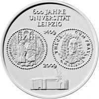 Deutschland 10 Euro 2009 Universität Leipzig stg
