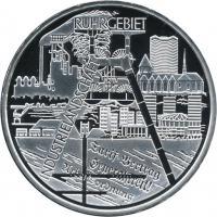 Deutschland 10 Euro 2003 Ruhrgebiet PP