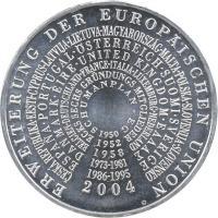 Deutschland 10 Euro 2004 EU-Erweiterung stg