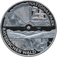 Deutschland 10 Euro 2005 Bayerischer Wald PP