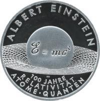 Deutschland 10 Euro 2005 Albert Einstein PP