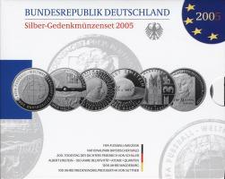 Deutschland Silber-Gedenkmünzenset 2005 PP
