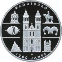 Deutschland 10 Euro 2005 Magdeburg PP