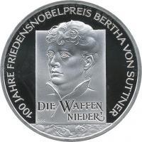 Deutschland 10 Euro 2005 von Suttner PP