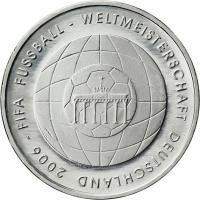 Deutschland 10 Euro 2006 Fußball-WM (Brandenburger Tor) stg