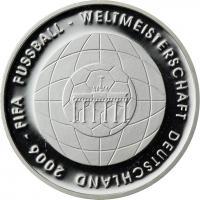 Deutschland 10 Euro 2006 Fußball-WM (Brandenburger Tor) PP