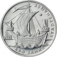 Deutschland 10 Euro 2006 Städtehanse stg