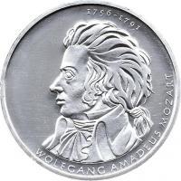 Deutschland 10 Euro 2006 Mozart stg