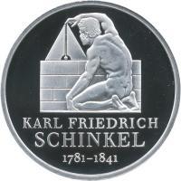 Deutschland 10 Euro 2006 Schinkel PP