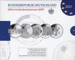 Deutschland Silber-Gedenkmünzenset 2007 PP