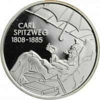 Deutschland 10 Euro 2008 Carl Spitzweg PP