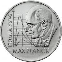 Deutschland 10 Euro 2008 Max Planck stg