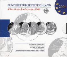 Deutschland Silber-Gedenkmünzenset 2008 PP