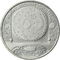 Deutschland 10 Euro 2008 Himmelsscheibe von Nebra stg
