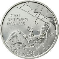 Deutschland 10 Euro 2008 Carl Spitzweg stg