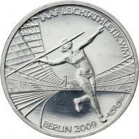 Deutschland 10 Euro 2009 Leichtathletik-WM in Berlin stg