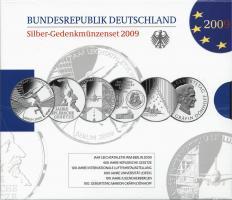 Deutschland Silber-Gedenkmünzenset 2009 PP