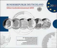 Deutschland Silber-Gedenkmünzenset 2010 PP