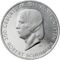 Deutschland 10 Euro 2010 Robert Schumann stg