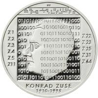Deutschland 10 Euro 2010 Konrad Zuse PP