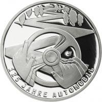 Deutschland 10 Euro 2011 125 Jahre Automobil PP
