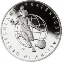 Deutschland 10 Euro 2011 Frauenfußball-WM PP