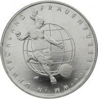 Deutschland 10 Euro 2011 Frauenfußball-WM stg