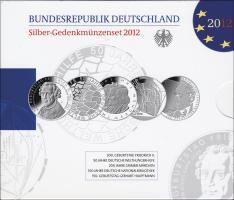 Deutschland Silber-Gedenkmünzenset 2012 PP