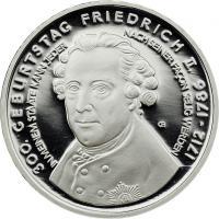 Deutschland 10 Euro 2012 Friedrich der Große PP