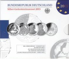 Deutschland Silber-Gedenkmünzenset 2013 PP