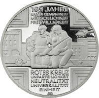 Deutschland 10 Euro 2013 150 Jahre Rotes Kreuz PP