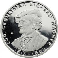 Deutschland 10 Euro 2013 Richard Wagner PP