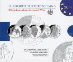 Deutschland Silber-Sammlermünzenset 2014 PP