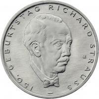 Deutschland 10 Euro 2014 Richard Strauss prfr