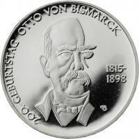 Deutschland 10 Euro 2015 Otto von Bismarck PP