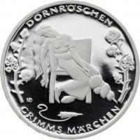 Deutschland 10 Euro 2015 Dornröschen PP