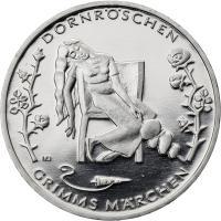 Deutschland 10 Euro 2015 Dornröschen prfr