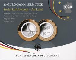 Deutschland 10 Euro 2020 An Land PP