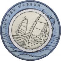 Deutschland 10 Euro 2021 Auf dem Wasser prfr