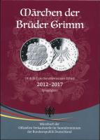 Deutschland 10-& 20-Euro-Sammlermünzen (Silber) 2012-2017 PP Märchen der Brüder Grimm